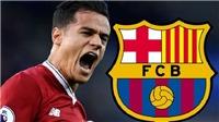 Barca tuyên bố đã chuẩn bị đủ tiền để mua Coutinho vào tháng Giêng