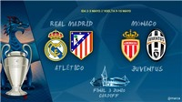 KẾT QUẢ bốc thăm Bán kết Champions League và Europa League