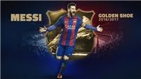 Dzeko không tạo ra 'phép màu', Messi chính thức giành Chiếc giày vàng châu Âu, san bằng kỉ lục của Ronaldo