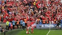 Arsenal 2-1 Chelsea: Sanchez và Ramsey lập công, Arsenal vô địch FA Cup