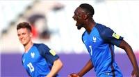 U20 Pháp 4-0 U20 Việt Nam: Thua cách biệt và mất người, U20 Việt Nam gặp khó trước trận gặp Honduras