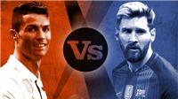 Trận 'kinh điển' trước cơ quan thuế của Messi và Ronaldo