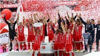 Lahm và Alonso nghẹn lời chia tay trong ngày Bayern Munich nâng cao đĩa bạc Bundesliga