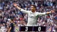 CẬP NHẬT sáng 3/5: Ronaldo lập hat-trick giúp hạ Atletico. Chiellini ngán nhất Ibra. De Gea không đòi ra đi