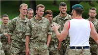ĐẶC BIỆT: Đội tuyển Anh cực ngầu khi khổ luyện như thủy quân lục chiến!