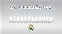 ĐỒ HỌA: Real Madrid đã hoàn tất 1 vòng quay Champions League