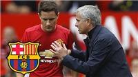Mourinho nhắn tin trực tiếp cho Barca về Ander Herrera