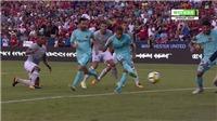 Video clip bàn thắng trận Barcelona - Man United