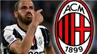 Lộ Lí do vì sao Juventus bán Bonucci cho AC Milan