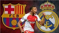 Real Madrid và Barcelona chiến nhau khốc liệt để giành Mbappe