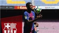 Ousmane Dembele, cầu thủ đắt giá nhất trong lịch sử Barca: 'Tôi luôn muốn khoác áo Barca từ nhỏ'