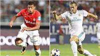 CẬP NHẬT sáng 6/8: M.U vỡ mộng giành Bale. Mbappe đến Manchester. Bayern giành Siêu Cúp Đức