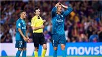 CHÍNH THỨC: Ronaldo bị treo giò 5 trận vì thẻ đỏ và xô trọng tài ở 'Kinh điển'