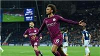 Video clip highlights bàn thắng trận West Brom 1-2 Manchester City