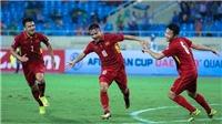 Việt Nam hơn Thái Lan tới 17 bậc ở BXH FIFA tháng 10/2017