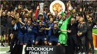 Ajax 0-2 Man United: Pogba tỏa sáng, Man United giành Cúp. Mourinho đi vào lịch sử