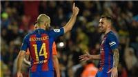 Ghi bàn đầu tiên sau 7 năm đá cho Barca, Mascherano 'cướp show' của Messi