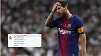 Real Madrid bị hacker tấn công trên mạng xã hội, CĐV Barca chế nhạo không thương tiếc