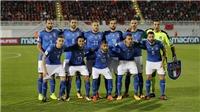 Thắng Albania, Italy dễ thở ở loạt trận play-off vòng loại World Cup 2018