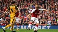 Arsenal 2-0 Brighton: Thắng thuyết phục, 'Pháo thủ' quyết trở lại top 4