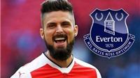 Vì sao Olivier Giroud từ chối rời Arsenal sang Everton?
