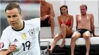 Mario Goetze say mê vui đùa cùng bạn gái nổi tiếng xinh đẹp và gợi cảm