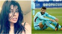 Ngôi sao của Barcelona nhận được loạt ảnh sexy từ hoa hậu siêu vòng 3 Suzy Cortez