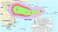 Trong 24 đến 48 giờ tới, bão số 11 di chuyển theo hướng Tây Nam