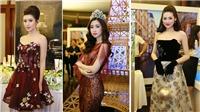 Dàn Hoa hậu, Á hậu lạc 'vào khu vườn bí ẩn' trong show thời trang Hoàng Hải