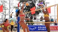 Cần Thơ  khai mạc giải bóng chuyền bãi biển nữ châu Á 2017
