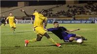 SLNA 4-1 Quảng Nam: Tỷ số làm bất ngờ cả 2 đội