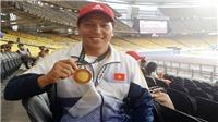 VĐV khuyết tật Vương Châu: Đam mê bóng đá nhưng giành HCV ném đĩa