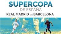 Barcelona - Real Madrid (04h00, 17/8): Nhiệm vụ bất khả thi của Messi và đồng đội