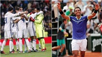 10 điểm tương đồng giữa Rafael Nadal và Real Madrid