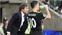Hazard cứ ra đi, Conte đã tìm được người thay thế