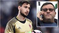 Donnarumma 'phản bội' Milan vì có... 11 CLB theo đuổi?