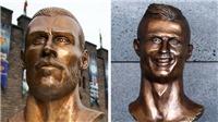 Fan không nhịn được cười trước bức tượng xấu xí 'không kém Ronaldo' của Gareth Bale