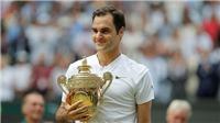 TENNIS 1/8: Federer đặt tên đặc biệt cho Wimbledon. Djokovic văng khỏi Top 4. Sharapova sẽ trở lại số 1