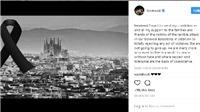 Ronaldo và Messi cùng chia buồn sâu sắc với nỗi đau của nạn nhân vụ khủng bố ở Barcelona
