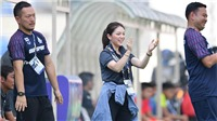 Sếp nữ xinh đẹp của U22 Thái Lan: 'Chúng tôi chắc chắn sẽ hạ gục Việt Nam'