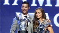 Ronaldo đoạt danh hiệu Cầu thủ xuất sắc nhất châu Âu với chiến thắng tuyệt đối trước Messi