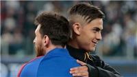 HLV Sampaoli giải thích lý do không để Messi đá cặp với Dybala