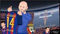Fan phát cuồng khi Mascherano ghi bàn đầu tiên trong màu áo Barcelona