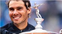 Tennis ngày 1/5: Nadal lập kỷ lục vô tiền khoáng hậu. Federer là thần tượng của Bill Gates