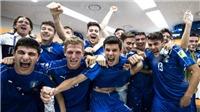 U20 Italy vào Bán kết nhờ siêu phẩm sút phạt của sao trẻ Dimarco
