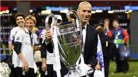 Zinedine Zidane: Từ HLV 'chui' đến nhà vô địch châu Âu
