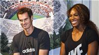 TENNIS ngày 15/7: Mặc váy để đánh với Clijsters. Serena nói yêu Murray. Hoàng Nam lại vô địch