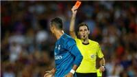 Real kháng án thất bại, Ronaldo vẫn bị cấm thi đấu 5 trận
