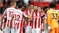 Video clip highlights bàn thắng trận Stoke 1-0 Arsenal