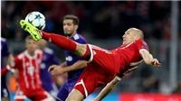 Video clip highlights bàn thắng trận Bayern Munich 3-0 Anderlecht